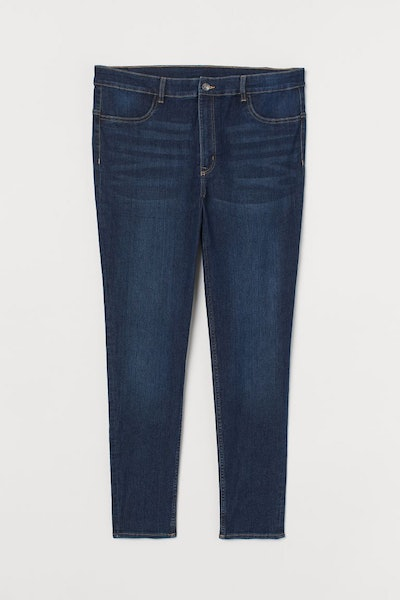 Plus Size Super Skinny High Jeans