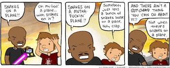 snakes on a place webcomic