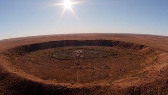 Meteorite impact crater