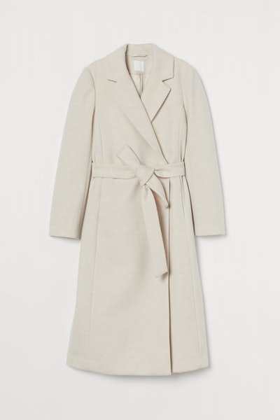 Tie-Belt Coat