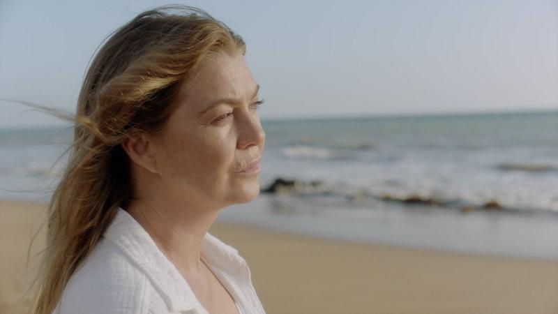 Ellen Pompeo as Meredith Grey in the 'Grey's Anatomy' Season 17 premiere via ABC's press site