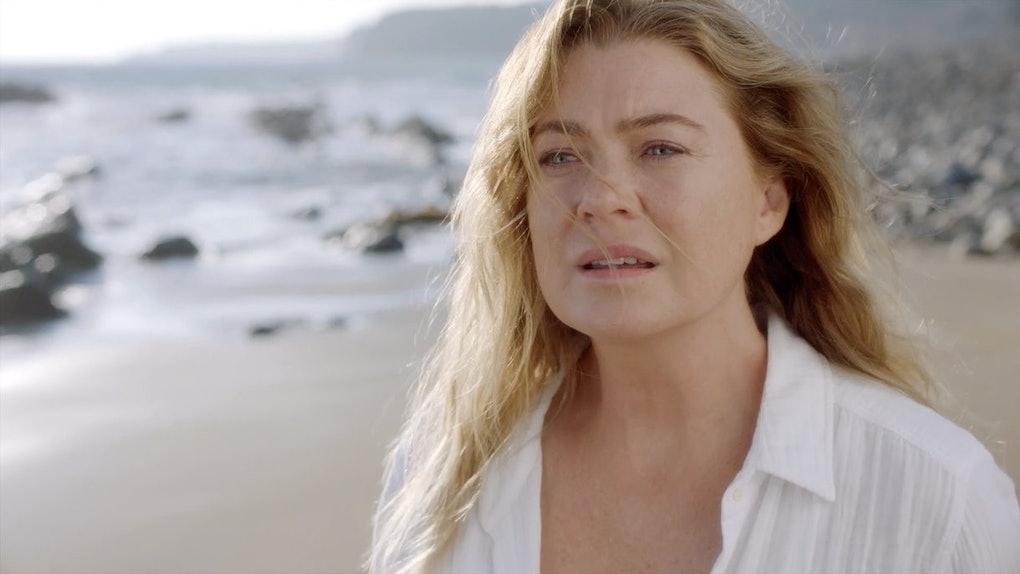 Meredith (Ellen Pompeo) in Season 17 of 'Grey's Anatomy'
