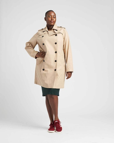 Derjon Trench Coat
