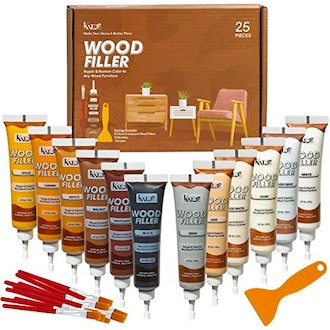 Katzco Furniture Repair Wood Fillers - Set of 25