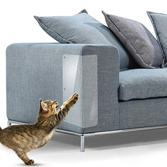 In hand Cat Scratch Furniture