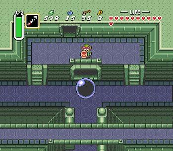 Link facing a Gargantuan Ball