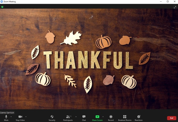 Here are the best Thanksgiving Zoom backgrounds to liven up your celebrations.