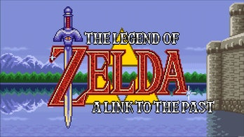 The game's opening screen.