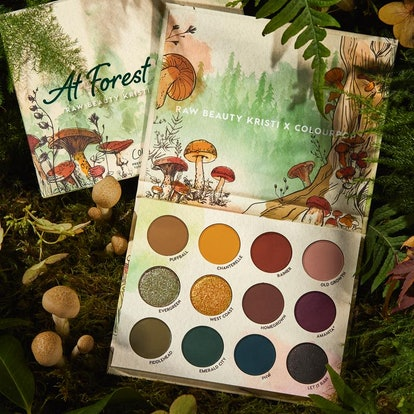 ColourPop x Raw Beauty Kristi At Forest Sight Shadow Palette