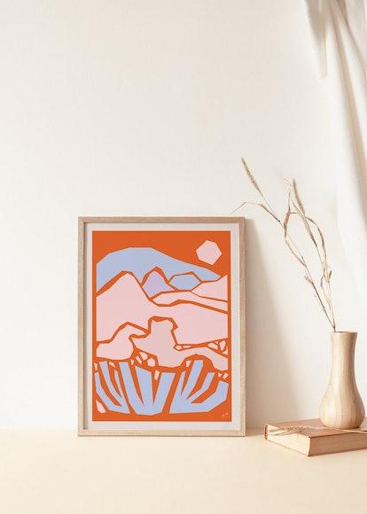 Abstract Desert Landscape 2 Giclée Print
