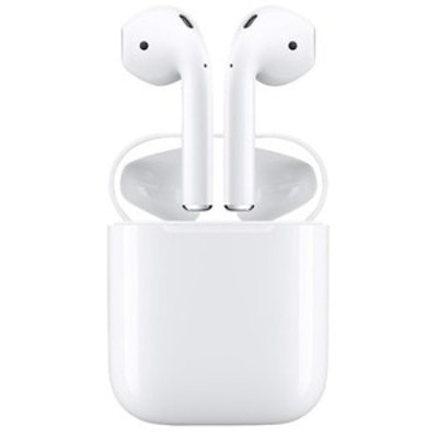 Apple AirPods (2nd Generation) Bluetooth Earbuds w/ Charging Case
