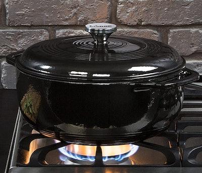 Lodge Enameled Cast Iron Dutch Oven (6 Qt)