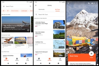 Google is discontinuing its Expedtions VR app that offered virtual tours of locales around the world.