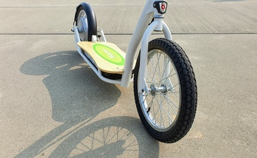 Razor EcoSmart SUP e-scooter review: 16 inch wheels and deck