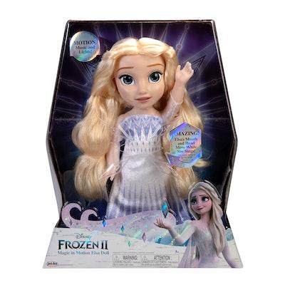 Disney 'Frozen 2' Magic In Motion Queen Elsa Doll