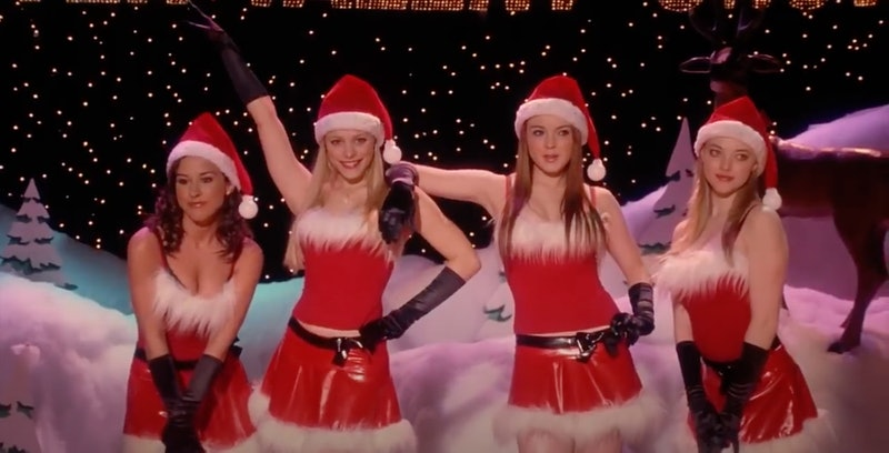"""The 'Mean Girls' """"Jingle Bell Rock""""scene turned out much different than originally planned."""