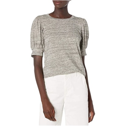 Daily Ritual Supersoft Terry Puff-Sleeve Top
