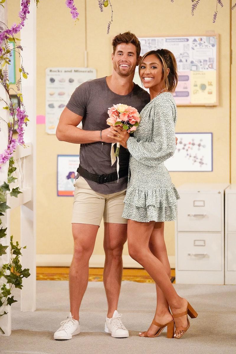 Chasen Nick and Tayshia Adams on 'The Bachelorette.' via ABC Press Site