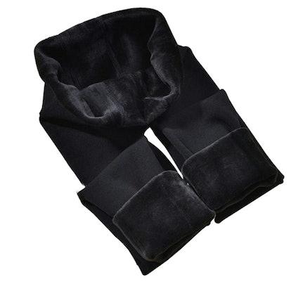 CHRLEISURE Fleece Lined Leggings
