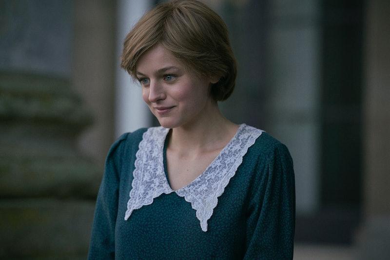 Emma Corrin in 'The Crown' season 4