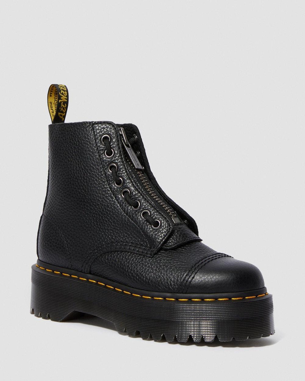 Sinclair Women's Leather Platform Boots