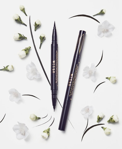 Stila Stay All Day Dual-Ended Waterproof Liquid Eye Liner, both tips.