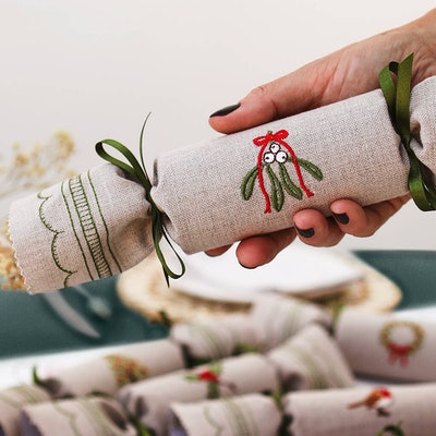 Kate Sproston Woodland Reusable Christmas Crackers