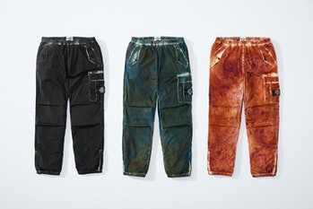 Stone Island Supreme Crinkle Cargo Pants