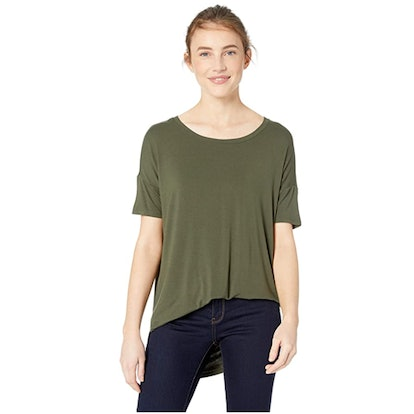 Daily Ritual Jersey Scoop Neck Top