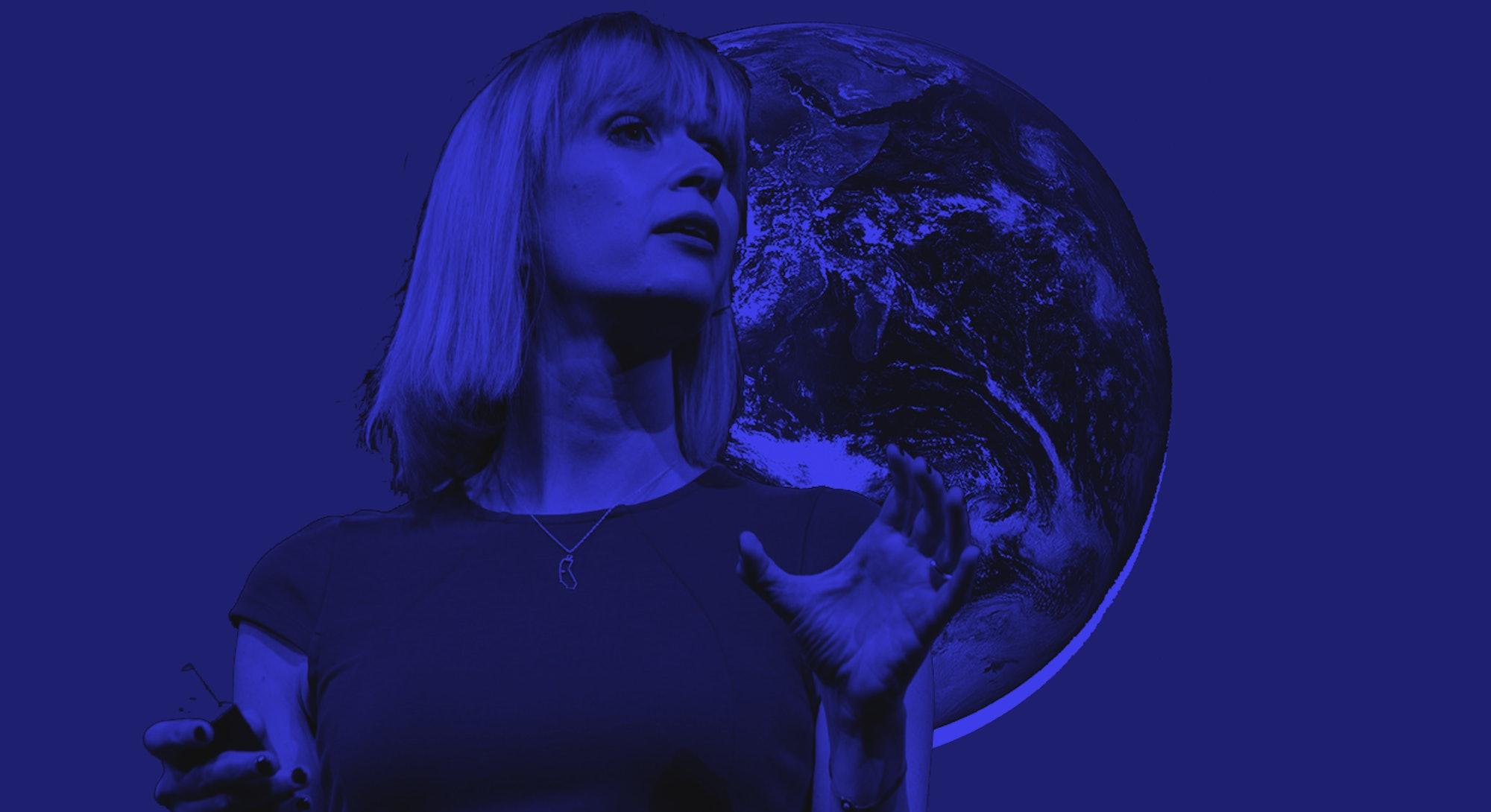 Climate scientist Kate Marvel