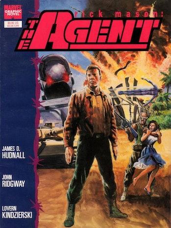 black widow mason the agent marvel