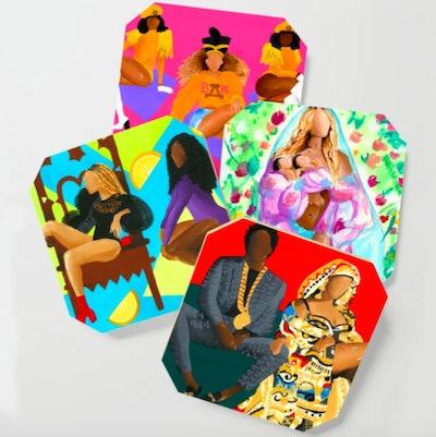 Beyhive Coaster Set