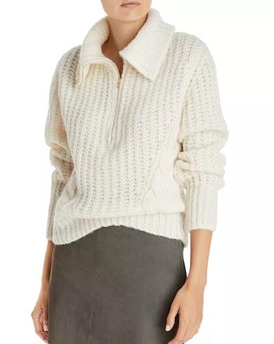 Daria Quarter Zip Sweater