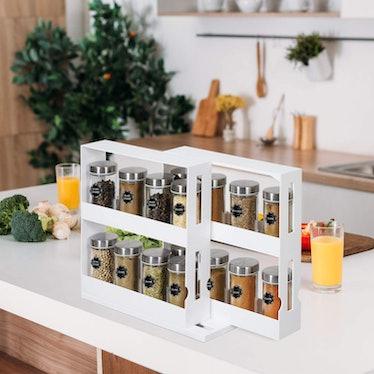 Phyllia Revolving Spice Rack Organize