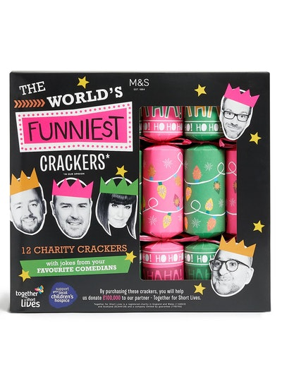 World's Funniest* Christmas Crackers