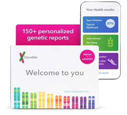 23andMe Health + Ancestry Personal Genetic Service Kit