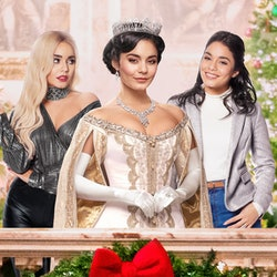 Vanessa Hudgens in 'The Princess Switch: Switched Again' via the Netflix press site.