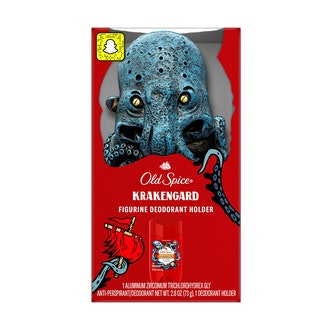 Krakengard Figurine Deodorant Holder +  Anti-Perspirant