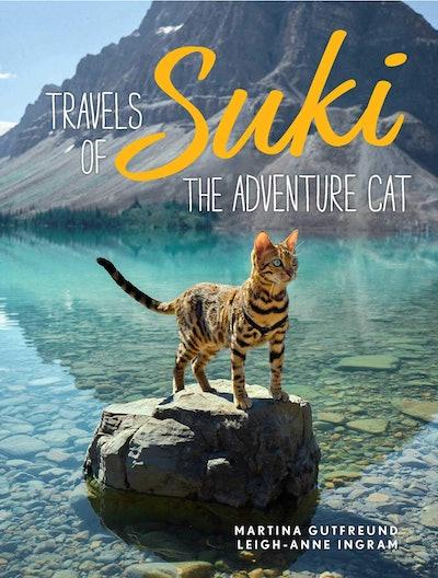 'Travels of Suki the Adventure Cat' by Martina Gutfreund and Leigh-Anne Ingram