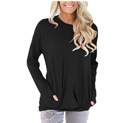 onlypuff Baggy Top with Pockets