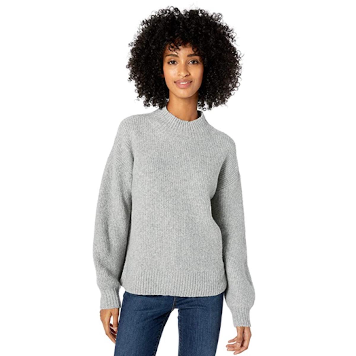 Goodthreads Balloon-Sleeve Sweater