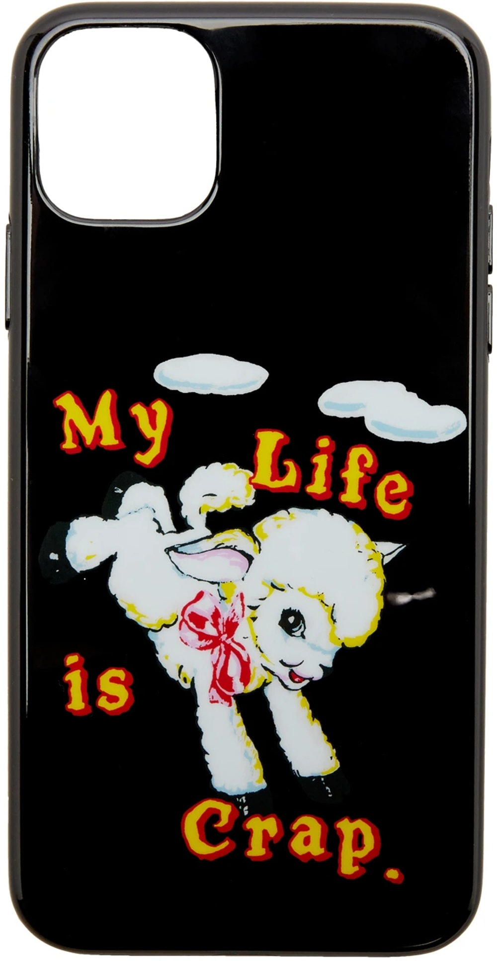Marc Jacobs Black Magda Archer Edition iPhone Case