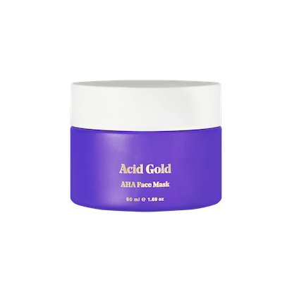 Acid Gold AHA Face Mask
