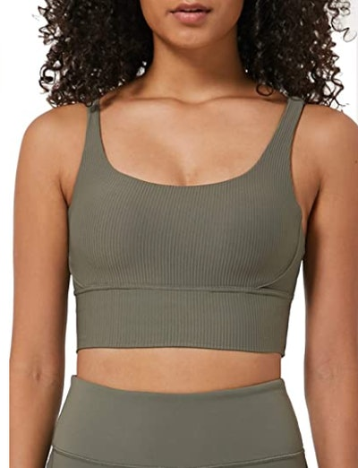 Ouber High Impact Ribbed Sports Bra