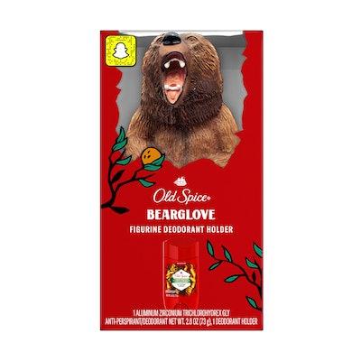 Bearglove Figurine Deodorant Holder +  Anti-Perspirant