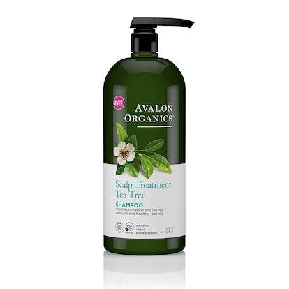 Avalon Organics Scalp Treatment Tea Tree Shampoo