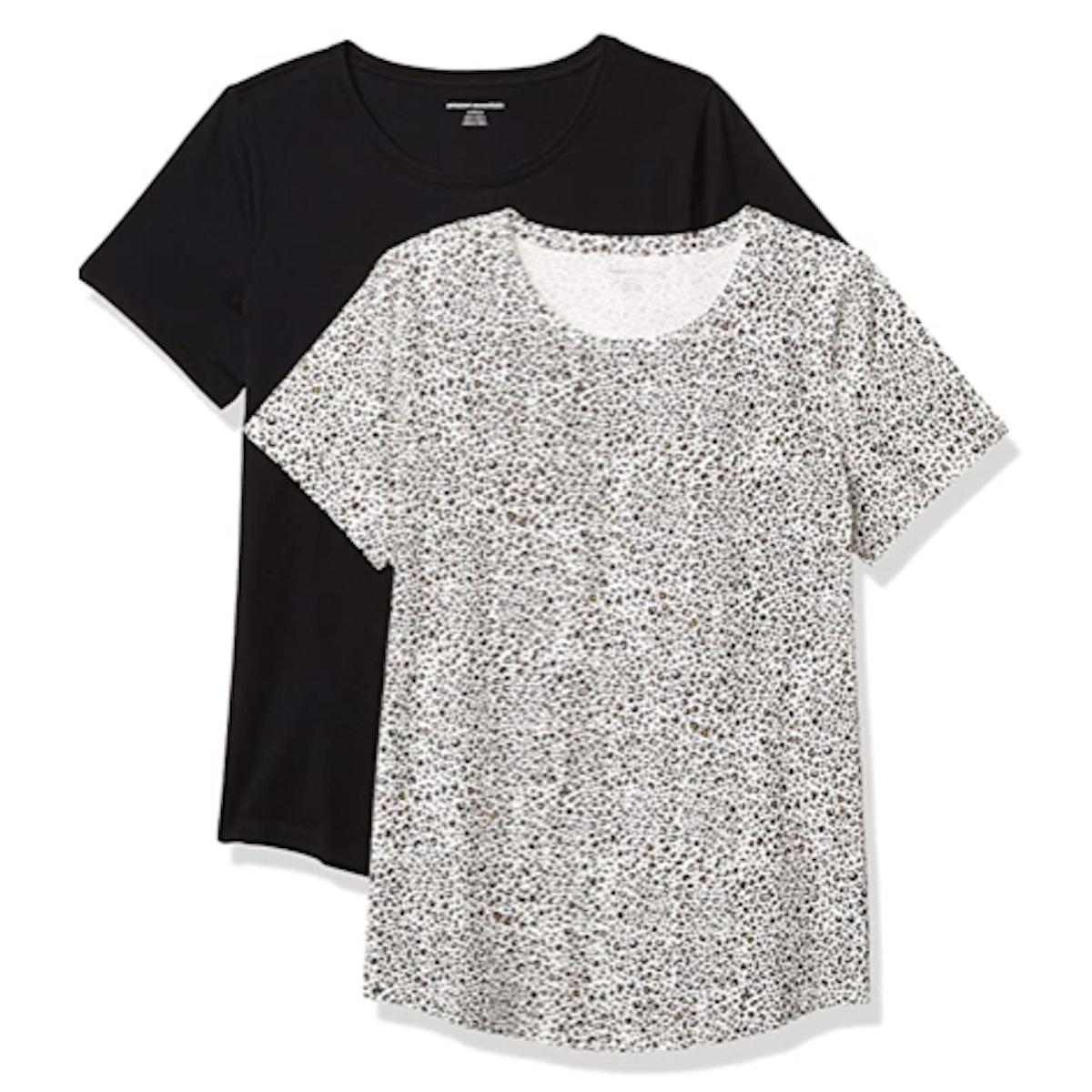 Amazon Essentials Cotton T-Shirts (2-Pack)