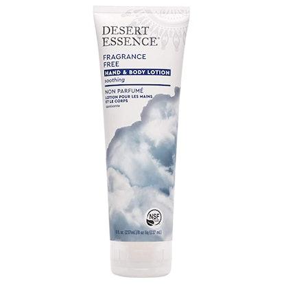 Desert Essence Fragrance Free Hand & Body Lotion