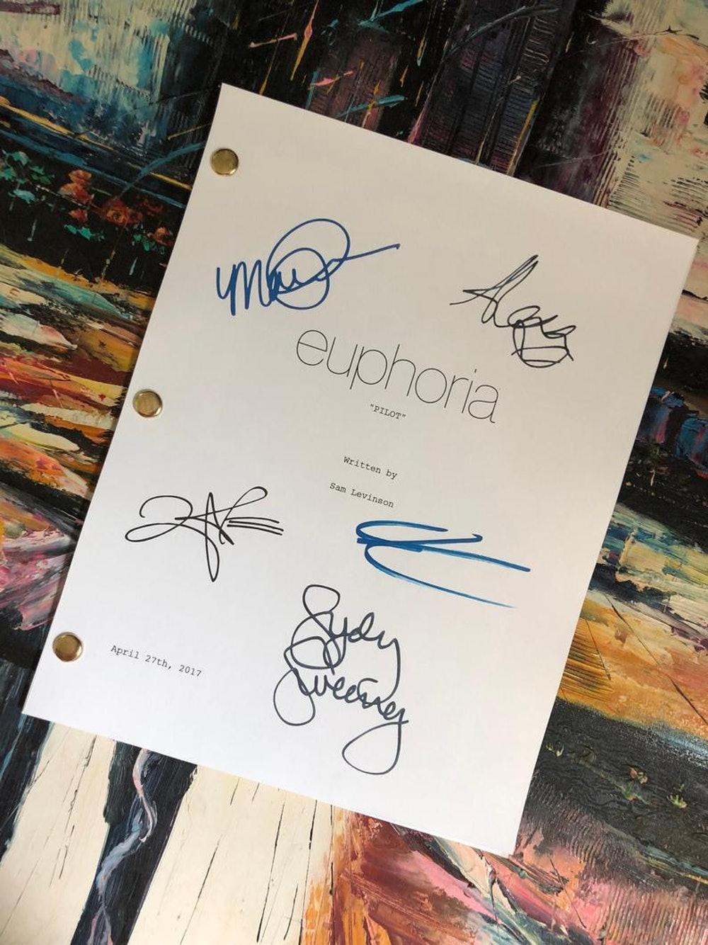 Screenplay Junkies Euphoria Tv Show Script