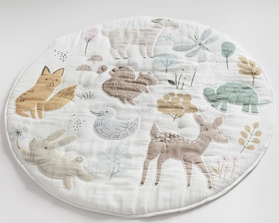 Dakota Woodland Muslin Travel Play Mat